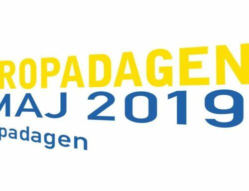 Europadagen 9 maj på Stockholms Centralstation