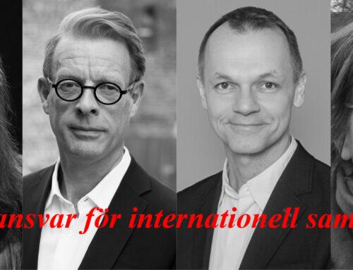 Vem tar ansvar för internationell samverkan?