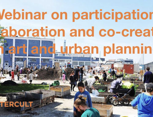 Webinar: Participation, collaboration and co-creation in art and urban planning