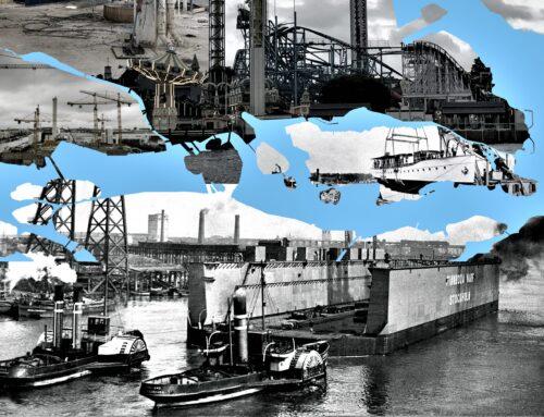 Webbinarium 2 december kl. 14.00 : Tidsflanörer: Stockholm, en vattenstad i förvandling