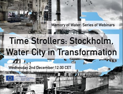 Time strollers – Stockholm, Water city in transformation – a conversation between artists and urban planners