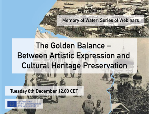 Batumi Webinar: The Golden Balance –  Between Artistic Expression and  Cultural Heritage Preservation