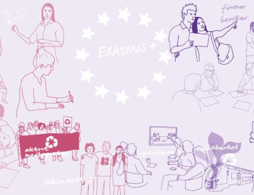 Digital lansering av nya Erasmus+