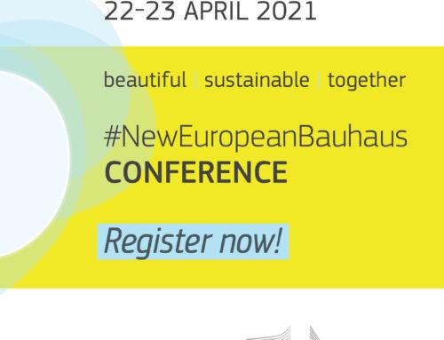 Den första #NewEuropeanBauhaus-konferensen!